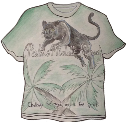 Palms Panther T-shirt