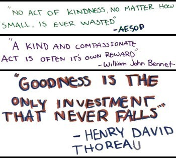 Kindness Campaign quotes