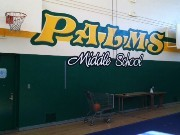 Palms gym murals 1 of 3