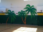 Palms gym murals 3 of 3