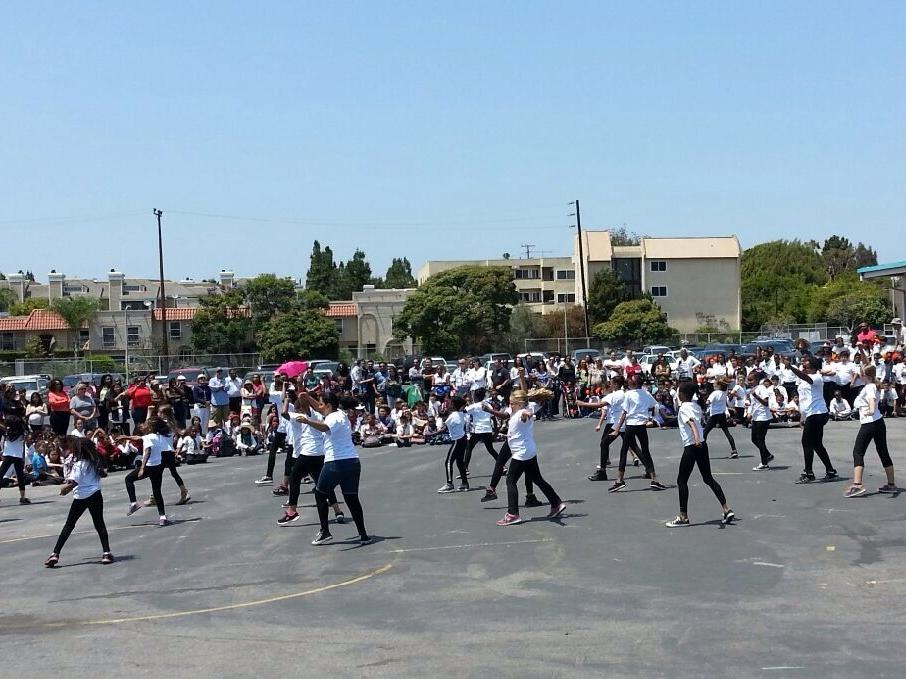 Paseo Drill Team  Happy  Routine