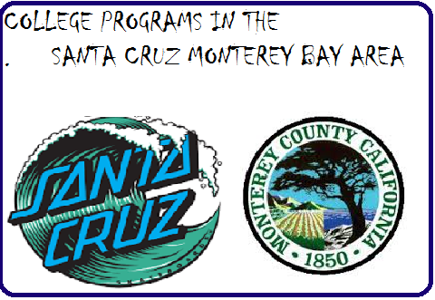 College Programs in the Santa Cruz Monterey Bay Area