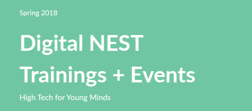 Digital NEST Training + Events