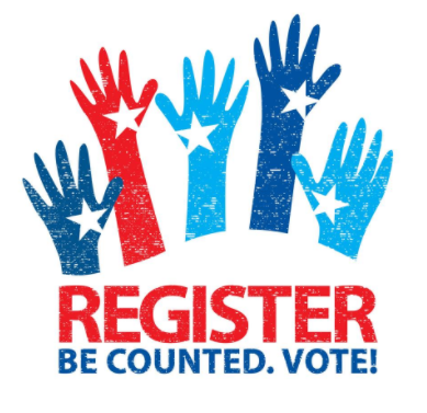 Register Be Counted. Vote
