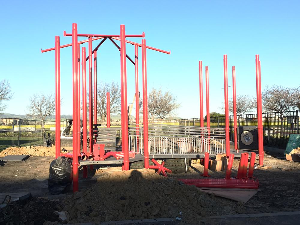 Our TK Kindergarten playground is getting a makeover!