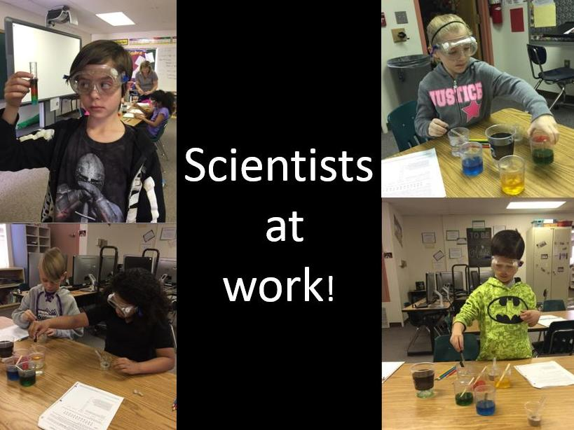 Scientists at work