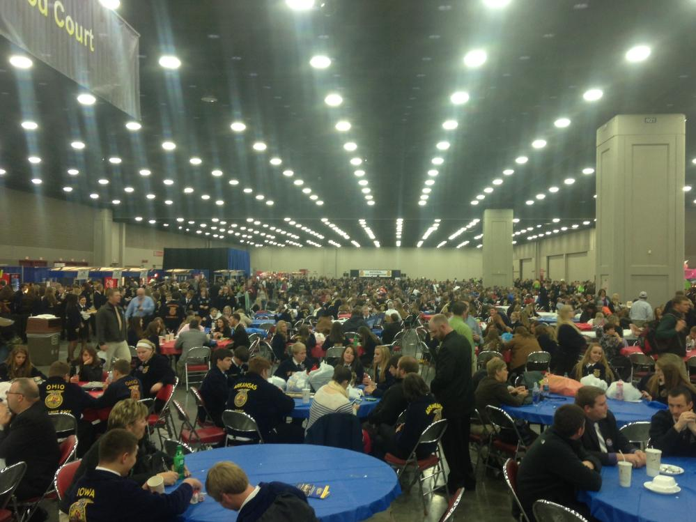 FFA large group convention