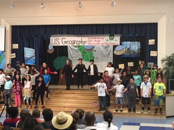 2017 Fifth Grade U.S. Geography Musical
