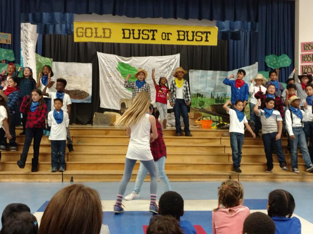 2017 Fourth Grade Gold Dust or Bust Musical