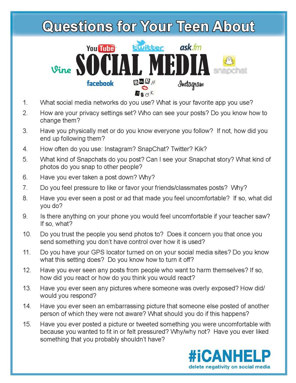 Asking about social media-page-