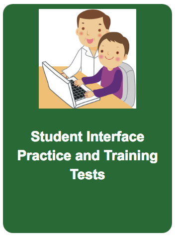 Student Interface Practice and Training Tests