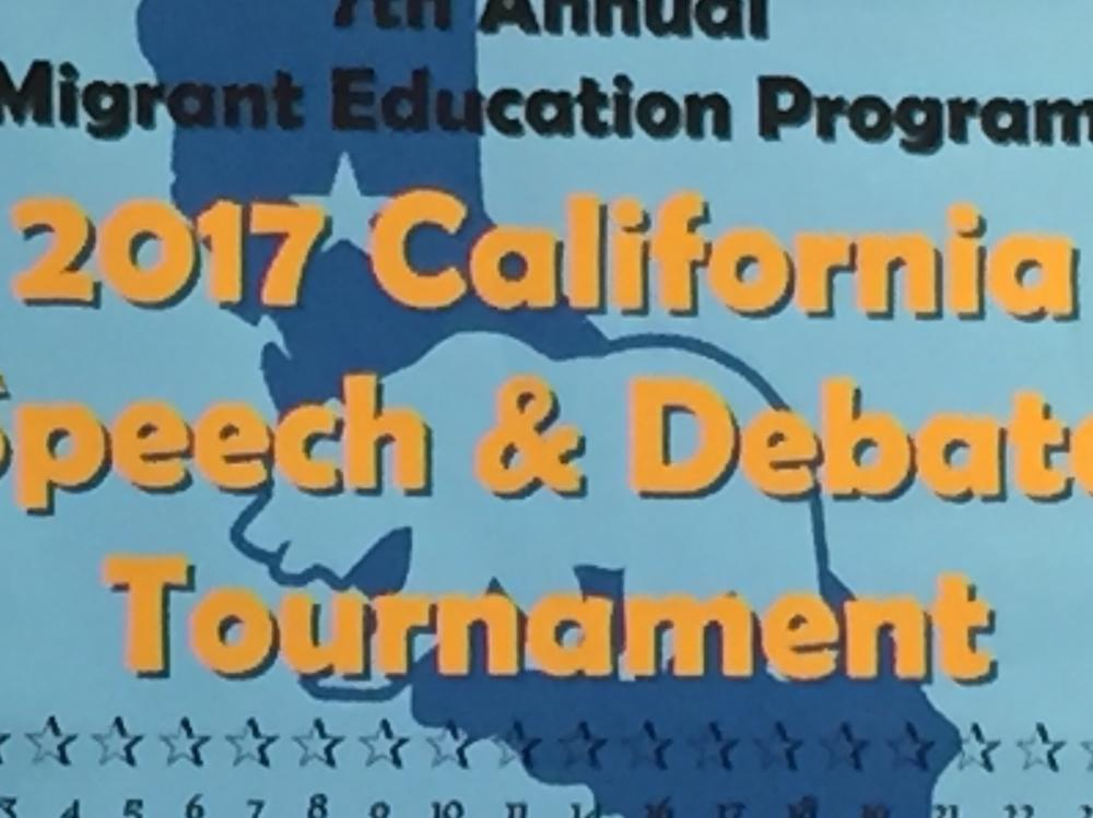 Speech and Debate - May 6th and 7th
