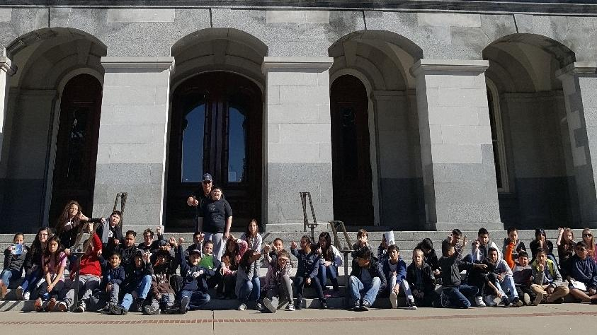 CMS 6th Grade Visit-State Capitol