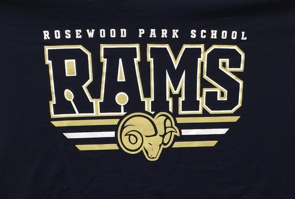 school t-shirt logo
