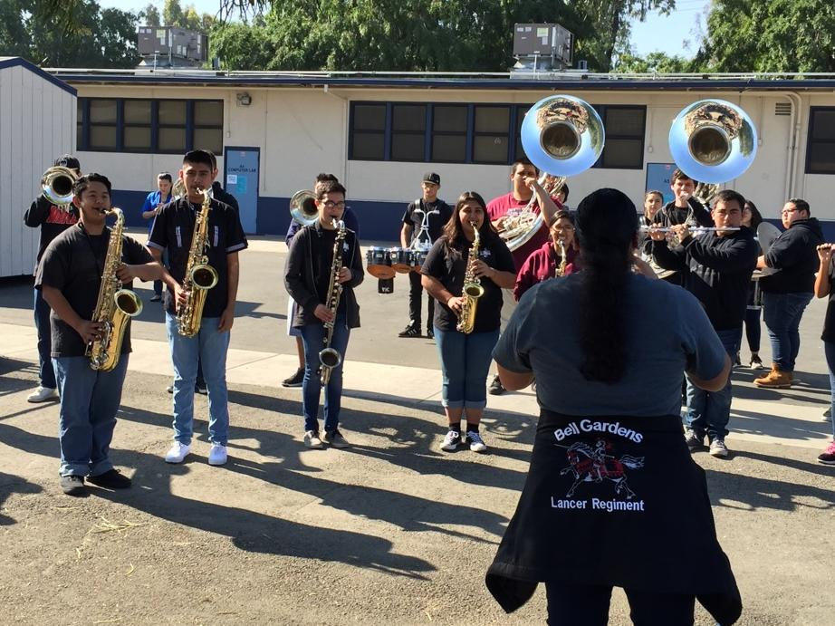 bell gardens marching band