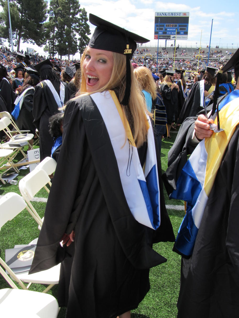 Ms. Vanderveen SJSU Graduation picture
