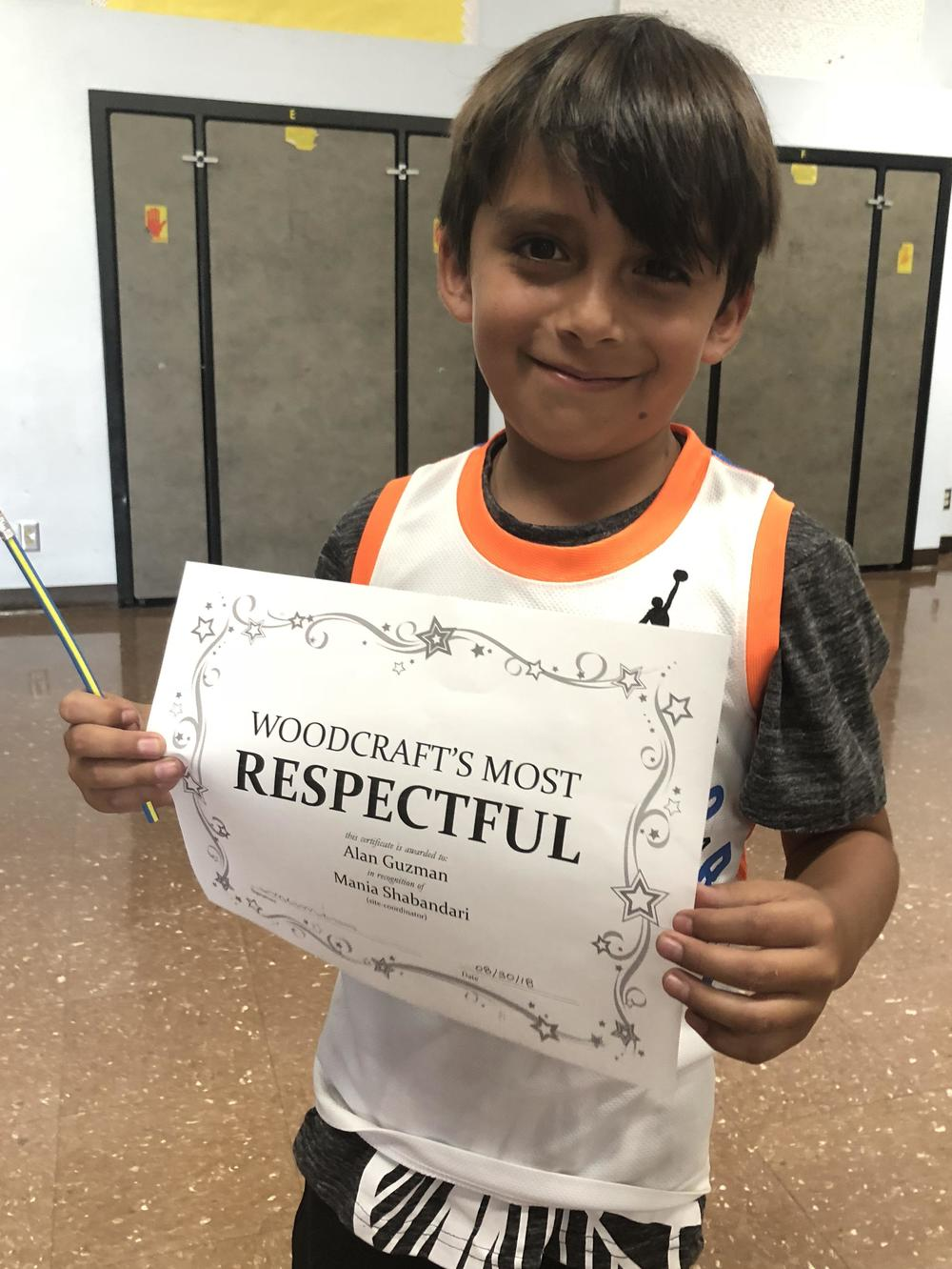 Every Friday Woodcraft Rangers comes together to do activities all together.  This Friday we recognized some of our AMAZING Rangers with awards!  Congratulations to those that received awards!
