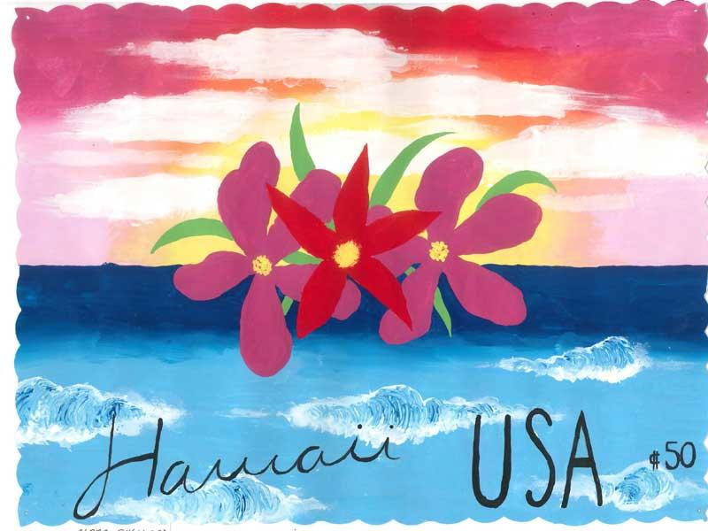 Postage Stamp Project Hawaii