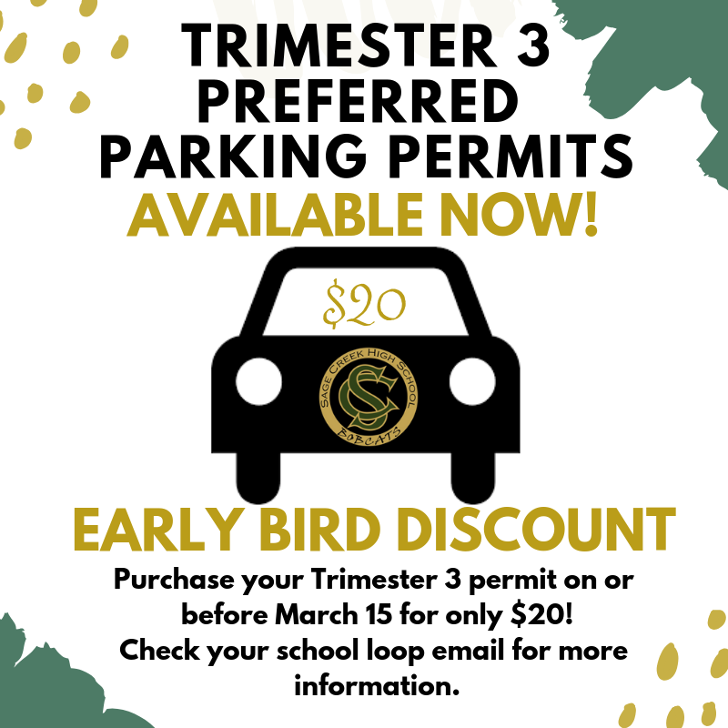 Tri 3 Permit - avail now - early bird