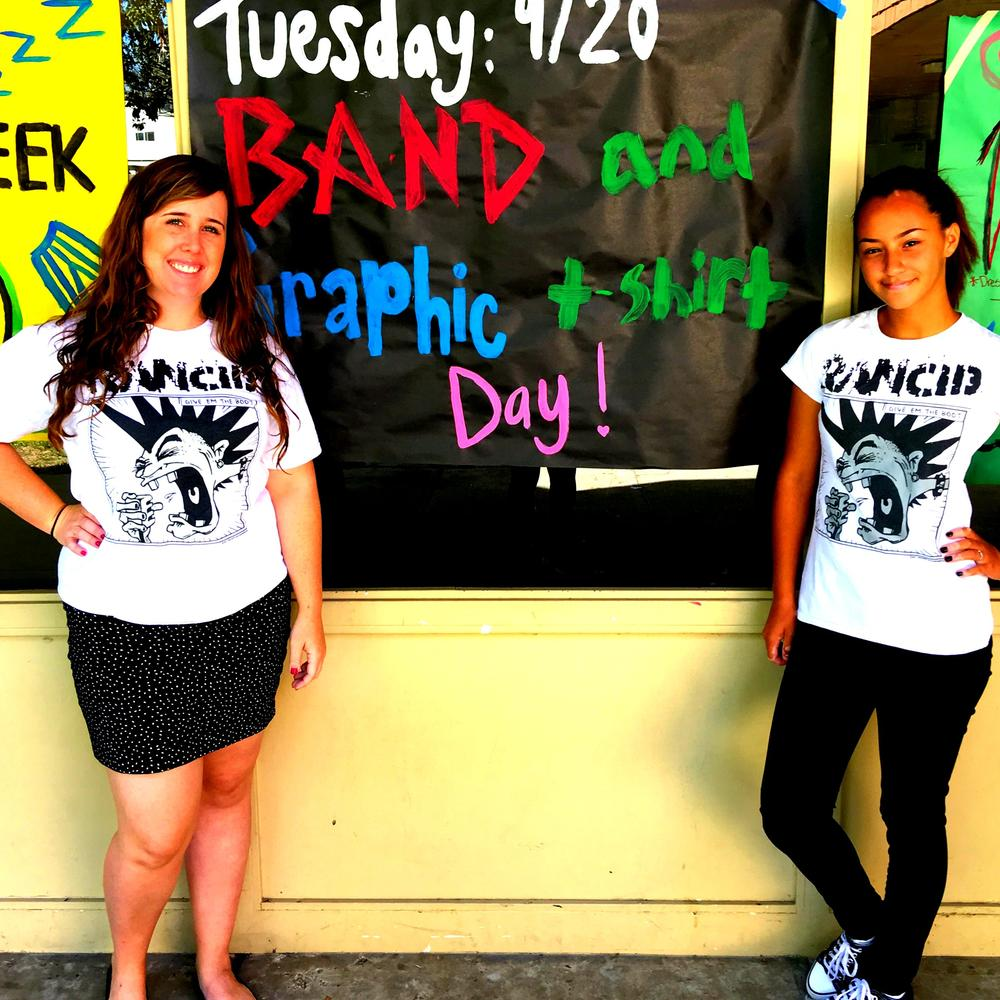 Spirit Day Band Shirt