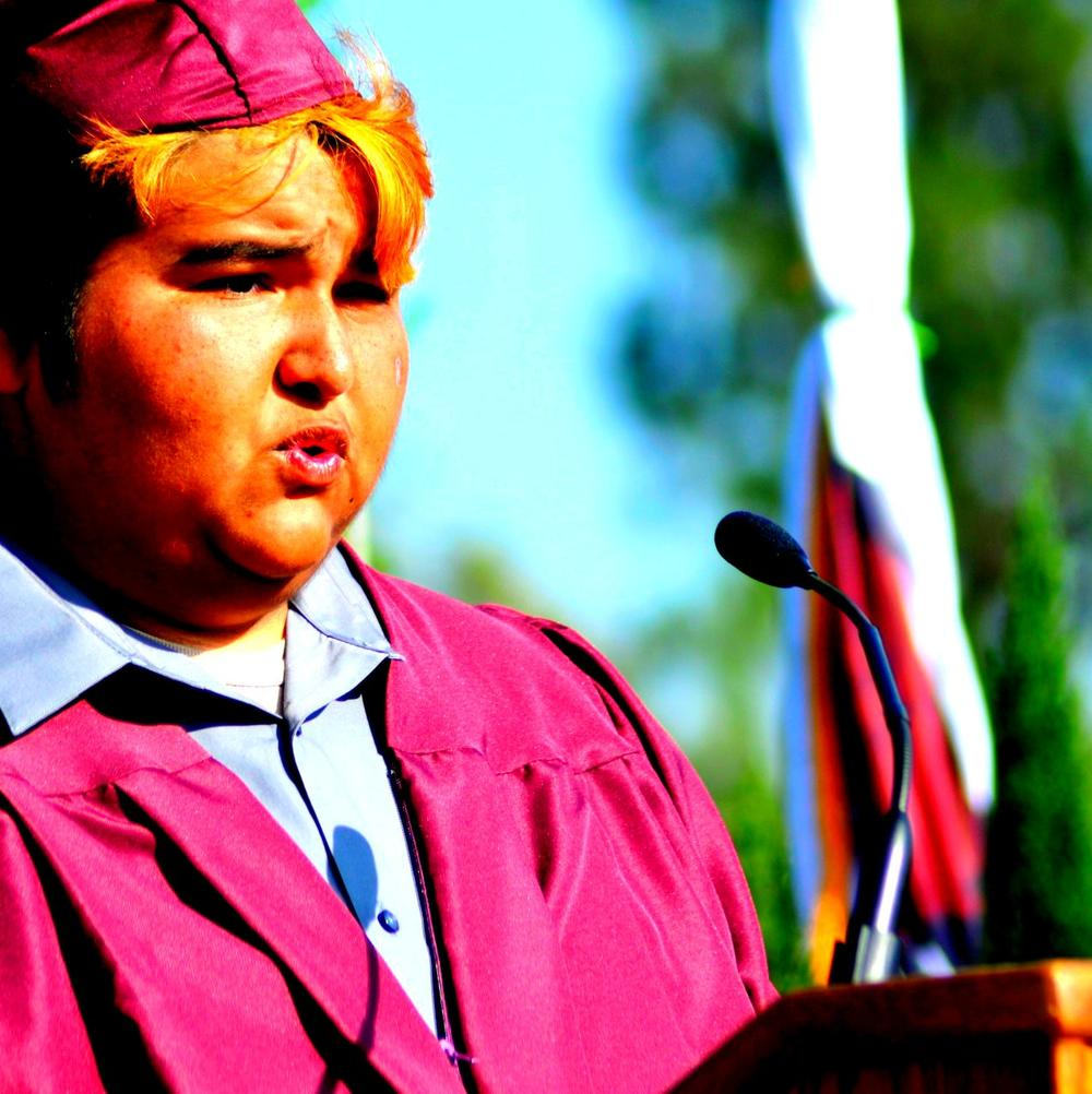 Vicente at Graduation