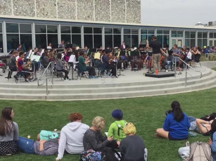 Symphony Orchestra Concert in the Quad
