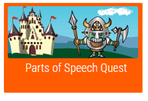 parts of speech quest