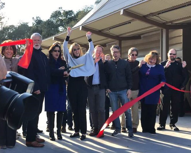 The Ribbon is Cut!