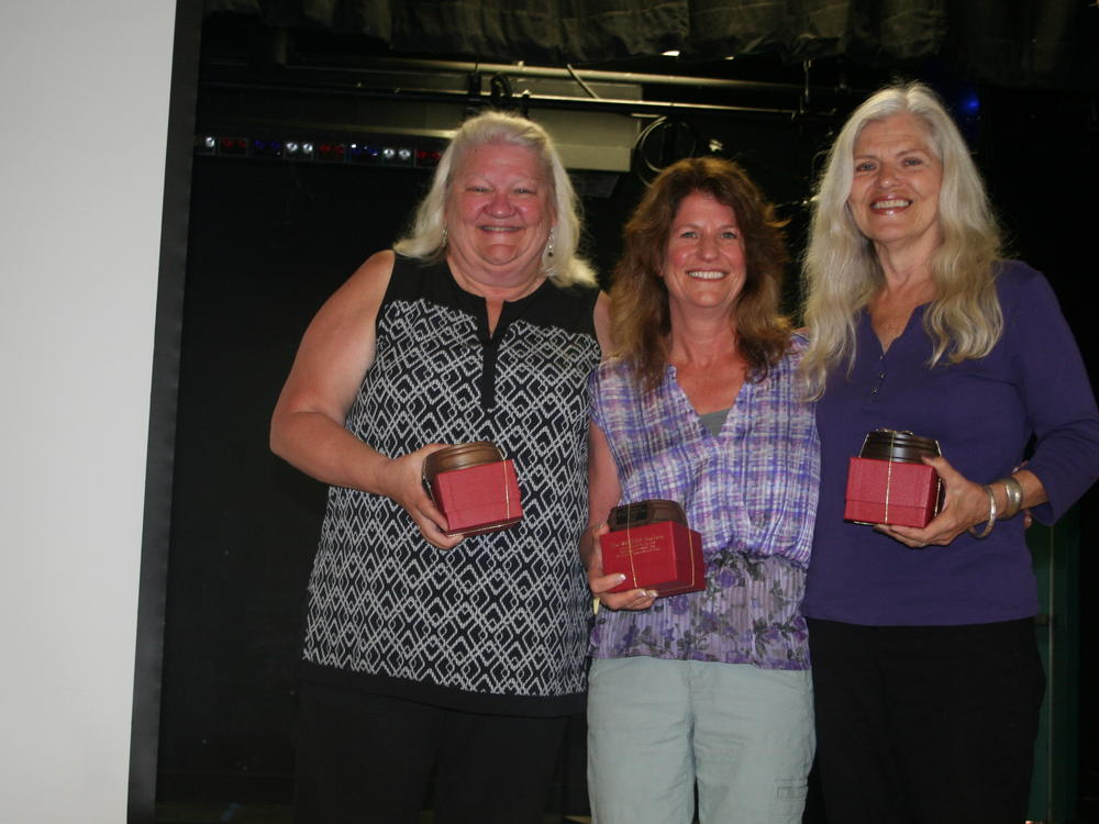 Recipients of the Fifteen-Year Service Awards