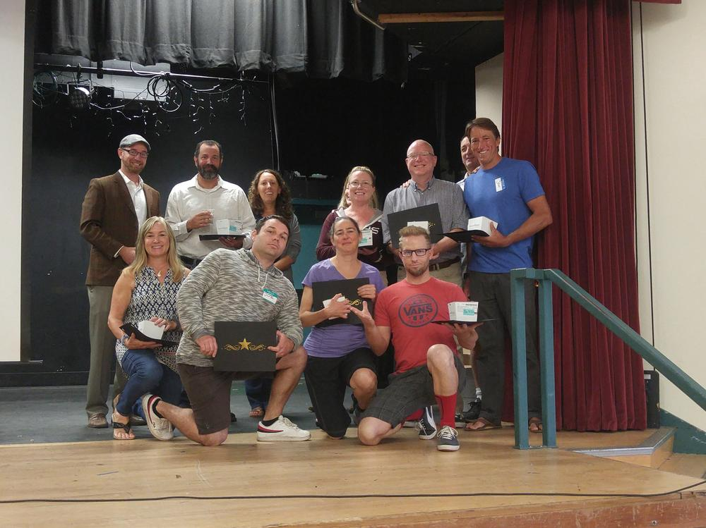 SVUSD employees honored for their 10 years of service in the district!