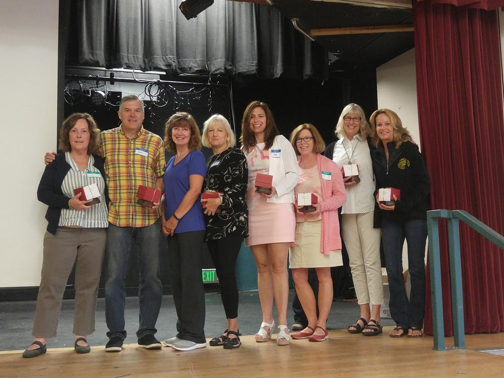 Congratulations to our employees for completing 20 years of service in SVUSD!