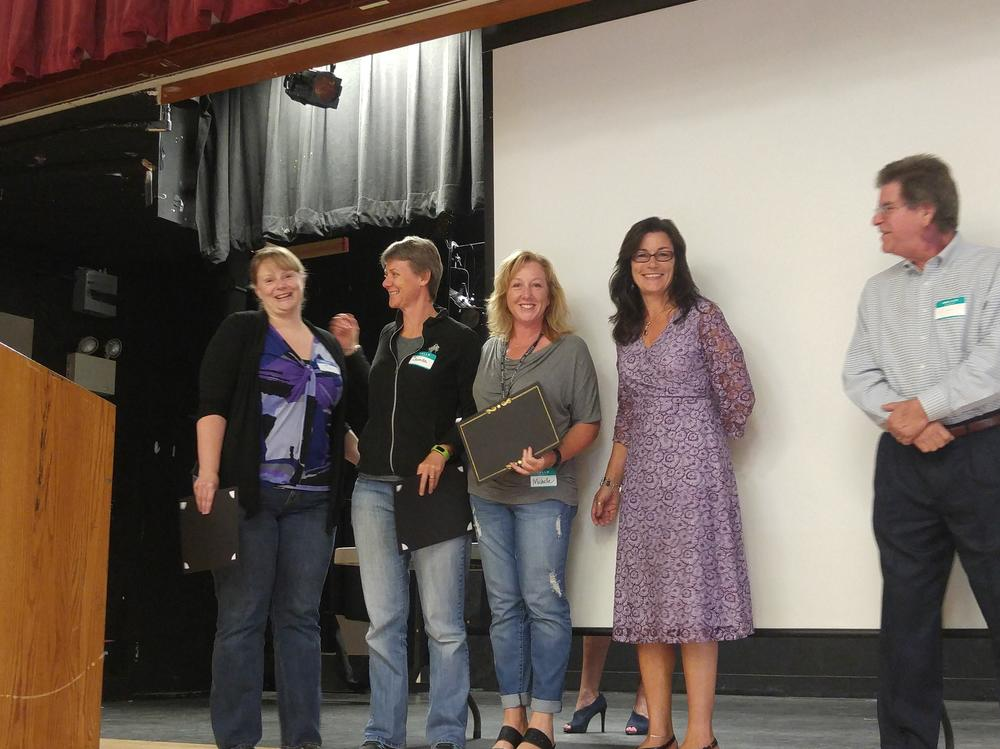 Celebrating 5 years of service to SVUSD!