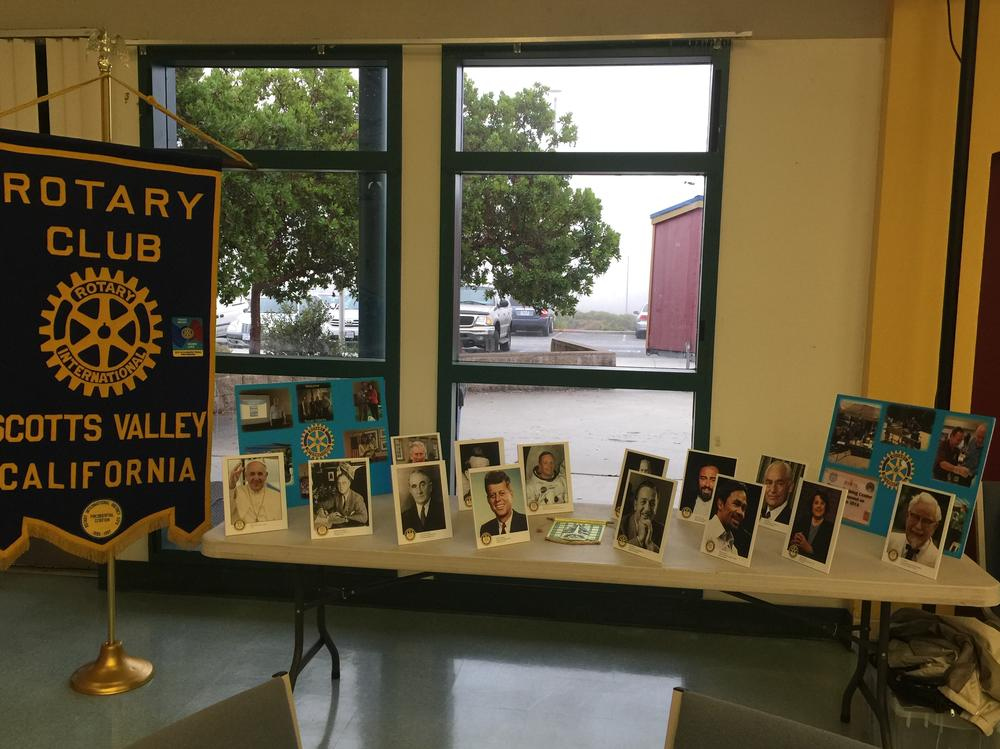 Many thanks to the Rotary Club for sponsoring the Welcome Back Breakfast!