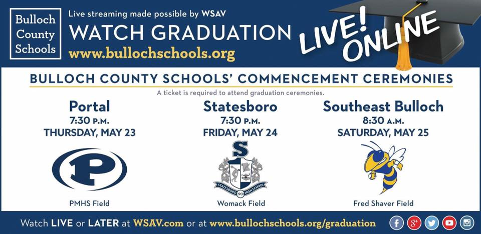 Watch Graduation Live!