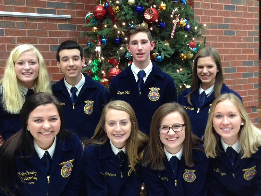 FFA Members before CDE competitions hosted at Southeast Bulloch High School
