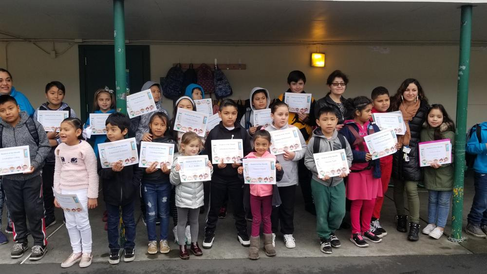 students of the month of January