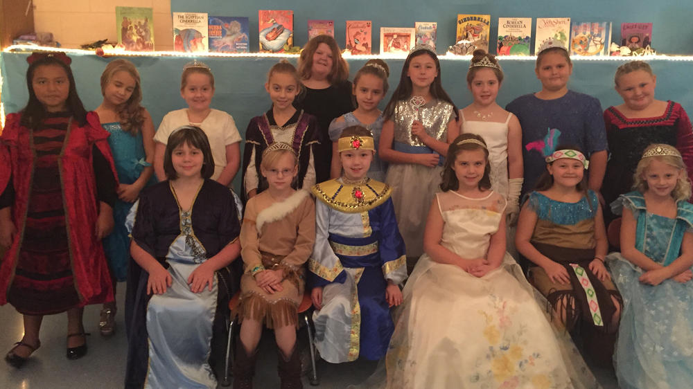 picture from the 3rd grade Fairytale Ball