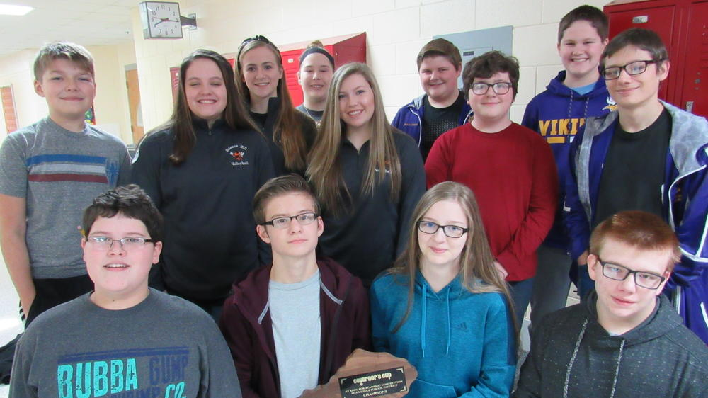 picture of the members of the academic team