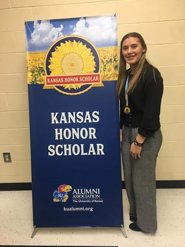Cynae Wiley, Kansas Honors Scholar