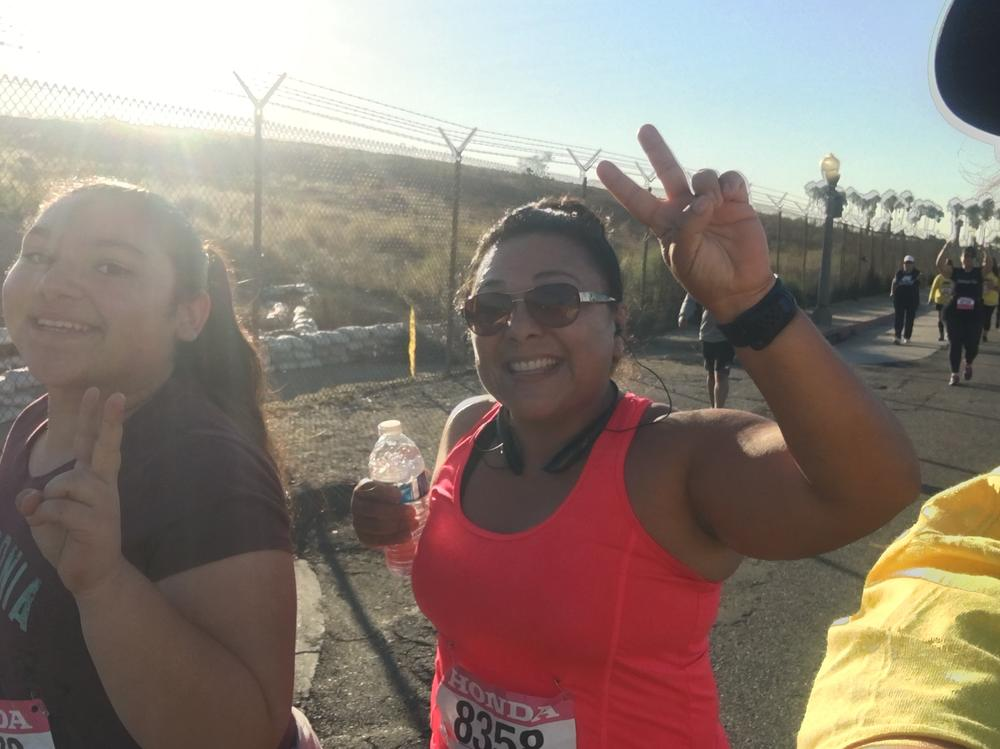 p Ms. Beltran-Mata - School Librarian by week...Marathon Racer by weekend! p