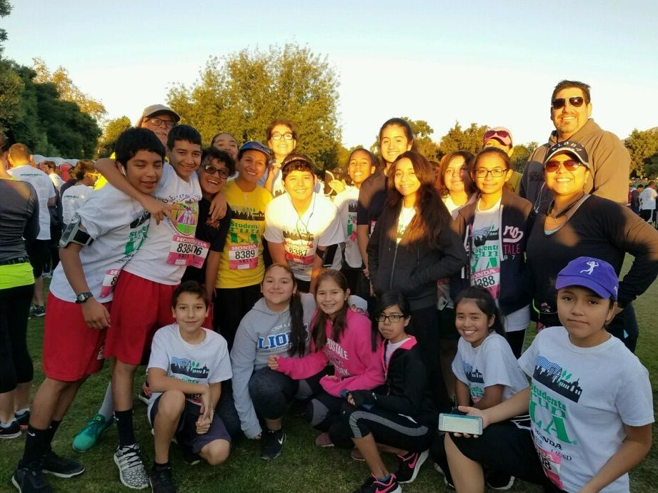 p Students Run LA 2017 p