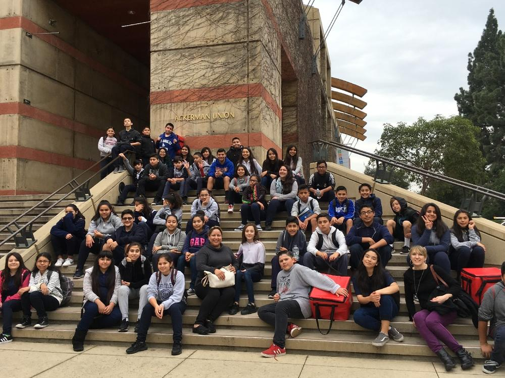 p Theatre Trip to UCLA Rules of the Game Performance Arts Show p