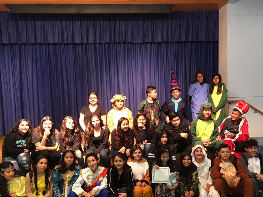 p SEMS Theatre Production for neighborhood elementary schools p