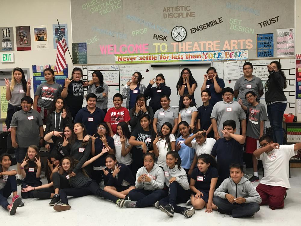 p Theatre Arts Program with Ms. Tarr, Theatre Performance and Production  Teacher p