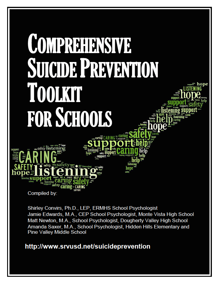 Comprehensive suicide prevention toolkit for schools