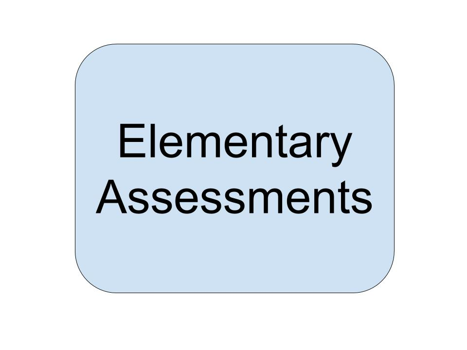 Elementary Assessments