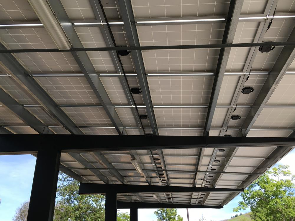 Solar PV district wide began construction during summer 2016