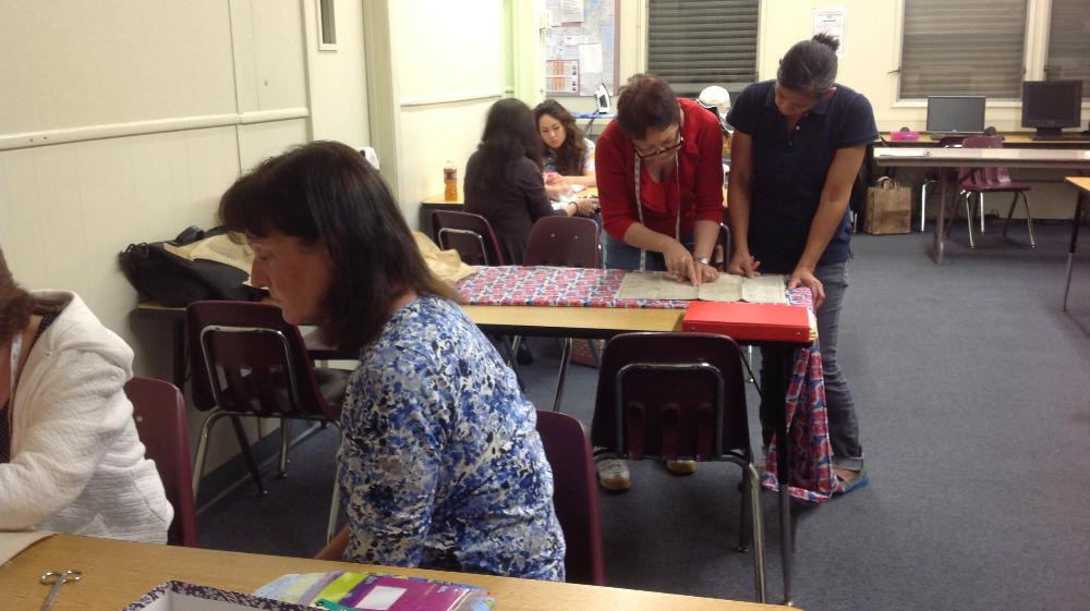 Sewing Class 2014  1