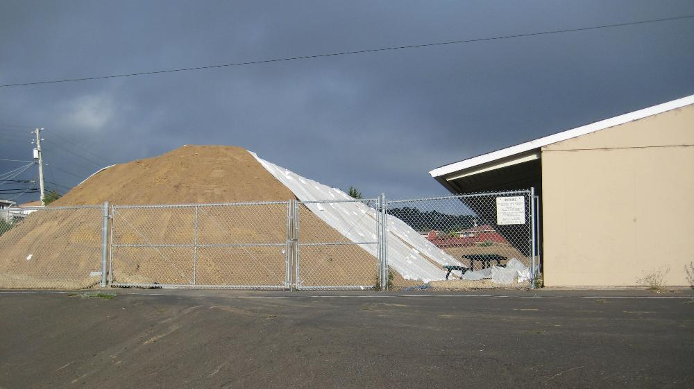 Our famous pile of dirt!!!