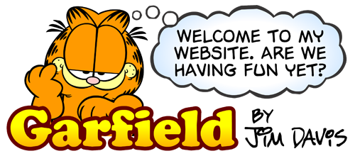Garfield Website Logo